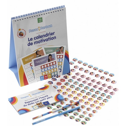 CALENDRIER MOTIVATION PASSE PARTOUT