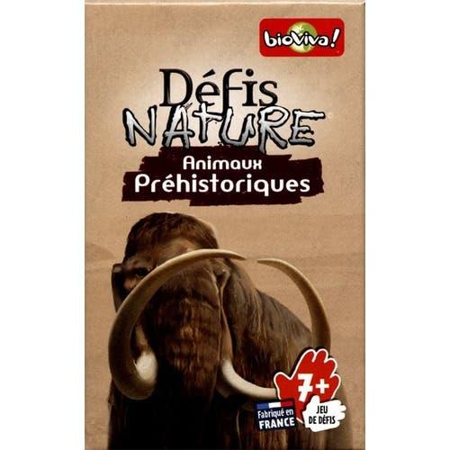 Defis  Nature/ Animaux Préhistoriques