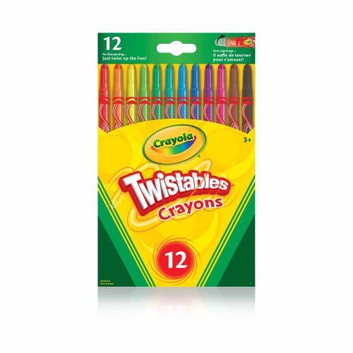 12 crayons Crayola Twistables
