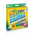 10 marqueurs deux-tons Double Doodlers