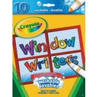 10 marqueurs lavables pour fenêtre Crayola