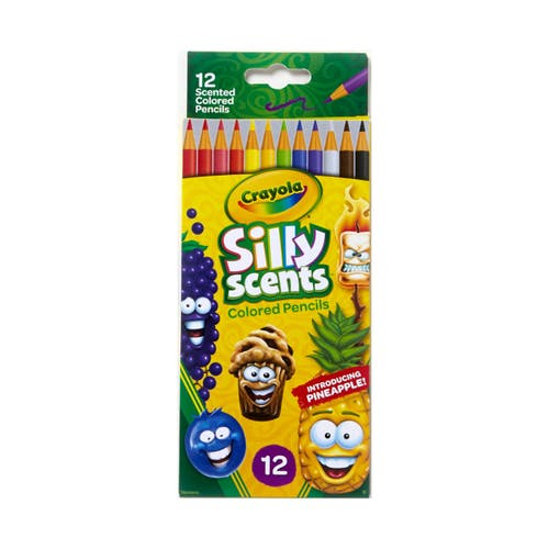 12 crayons de couleur Silly Scents