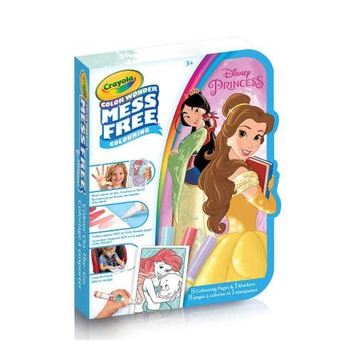 Coloriage à emporter Color Wonder, Les Princesses
