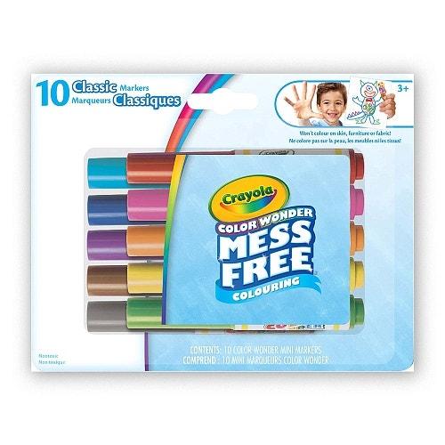10 mini marqueurs Color Wonder, Classique