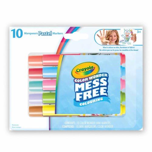 10 mini marqueurs Color Wonder, Pastel