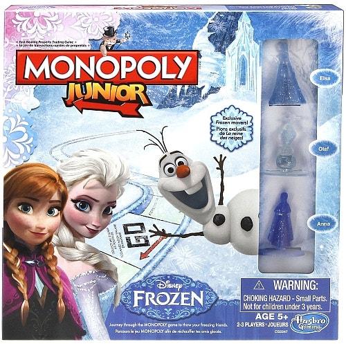 Js Monopoly Jr Frozen Bil