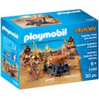 ***PLAYMOBIL GUERRIERS EGYPTIENS ET BALISTE***