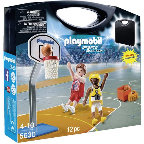 PLAYMOBIL VALISE BASKETBALL***