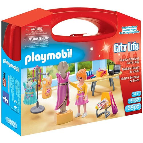 PLAYMOBIL VALISE ROBE HAUTE COUTURE***