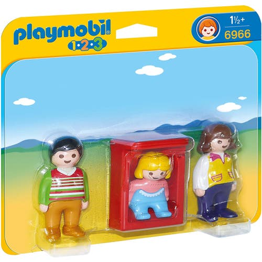 PLAYMOBIL PARENTS AVEC BEBE***