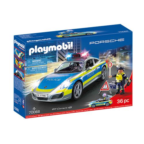 Porsche 911 Carrera 4S Police - Blanche