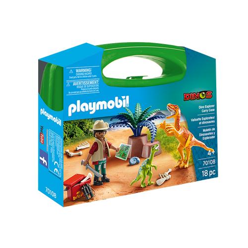 Valisette Explorateur et dinosaures