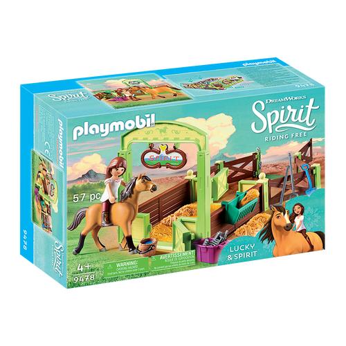 Lucky et Spirit avec box