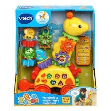 Vtech Zoo Ma Girafe A Engrenages Magique