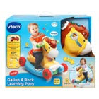 VTECH PONEY D'APPRENTISSAGE GALLOPPE ET BERCE
