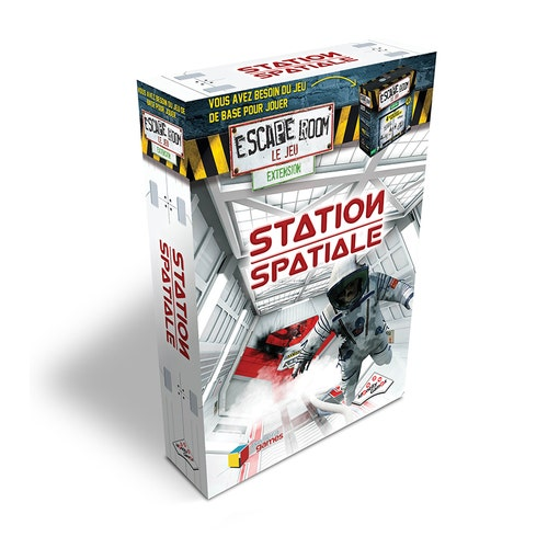Js Escape The Room Expension -Station Spaciale