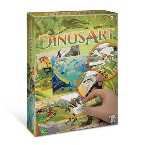 Tableaux À Texturer Dinosart