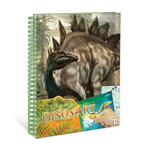 Peinture Par Autocolant Dinosart