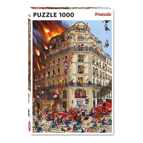 CASSE-TÊTE 1000 POMPIER