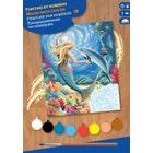 Peinture à numéros junior - Petite sirène (20)
