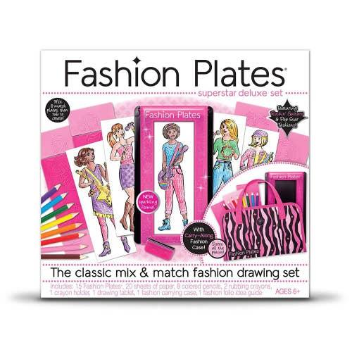 Fashion Plates - Ensemble de luxe Superstar***