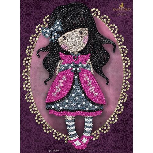 Sequin Art Gorjuss - Ladybird