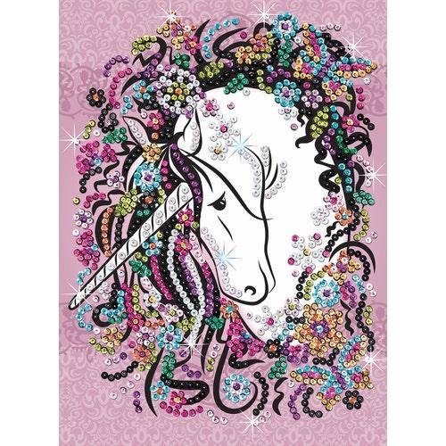Sequin Art Craft Teen - Licorne