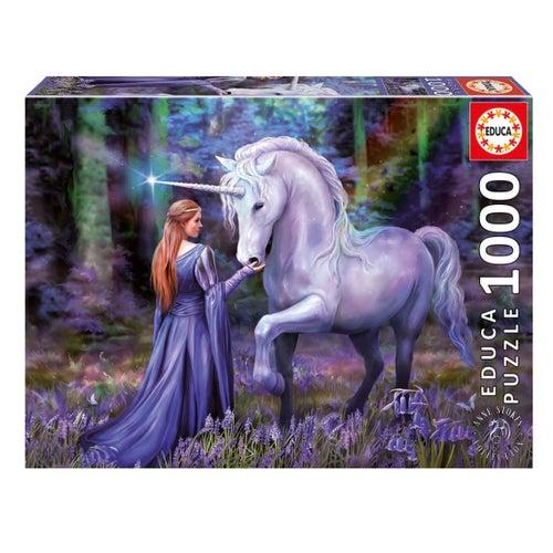 Casse-tête 1000#-Bluebell Woods, Anne Stokes(20)