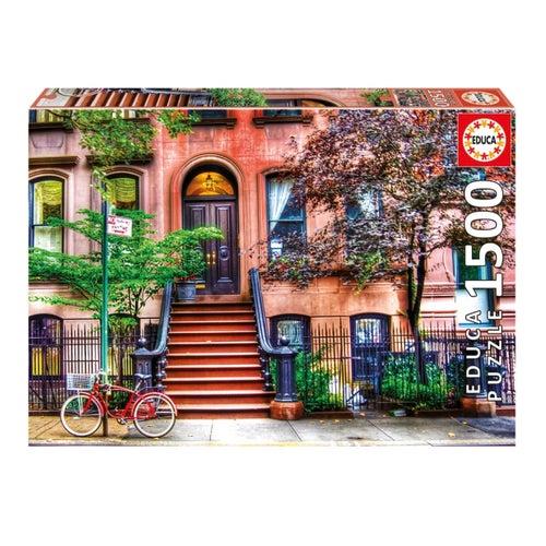 Casse-tête 1500#-Greenwich Village, New York(20)