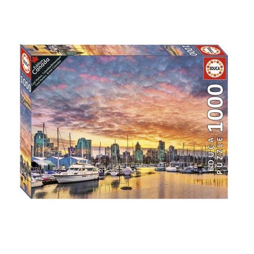 Casse-tête 1000#-Coal Harbor, Colombie-Britannique