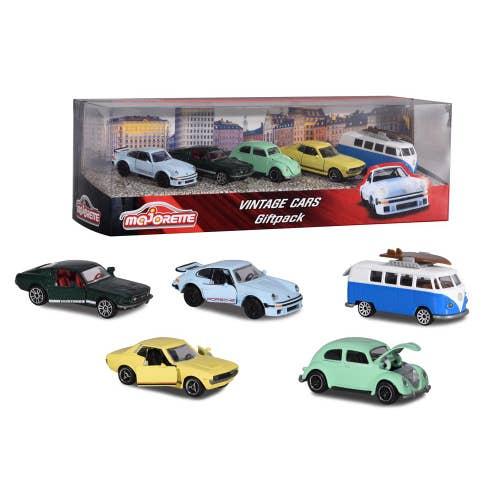 Majorette - Ens. 5 voitures Vintage*20