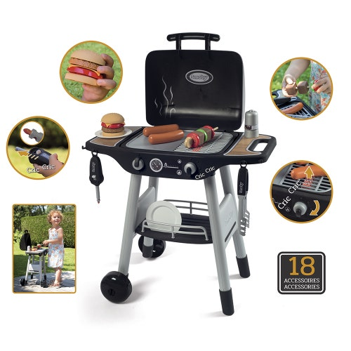Smoby - Barbecue Plancha avec 16 acc. (21)