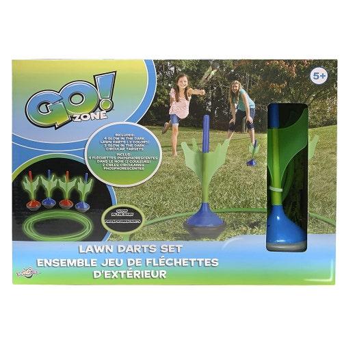 Go! Zone- Jeu de fléchettes phosphorescentes(01.21