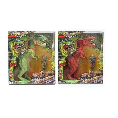 Jurassic Clash-Mega Monster! Ens. Dino 30cm 2/S(20