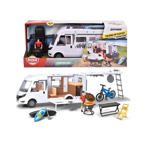 Dickie - Playlife Ens. Camping-car 30 cm 1:24