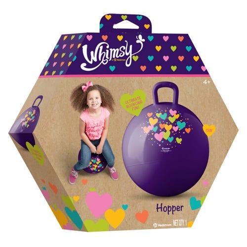 Whimsy Ballon sauteur cœurs//