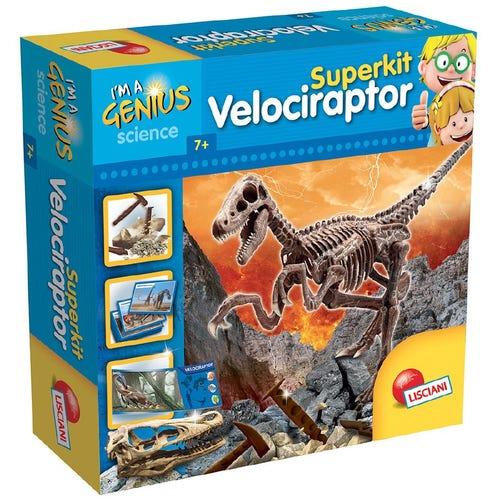 I'm a genius Super kit Velociraptor