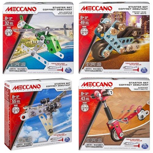 Meccano - Ensemble de départ assortis D.6