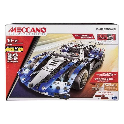 Meccano - Ensemble 25 modèles-Super voiture