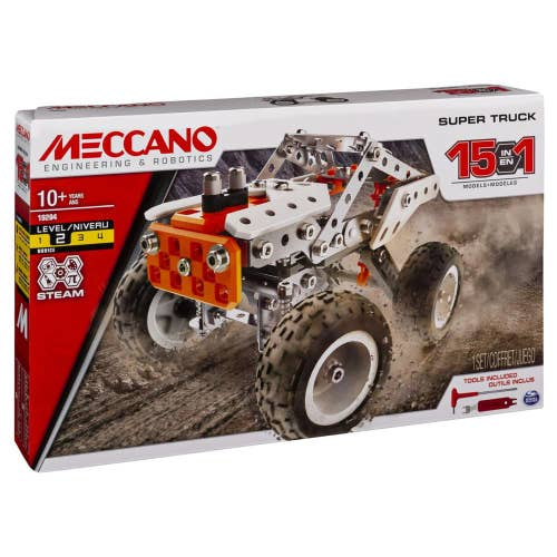 Meccano- Camion 15 en 1