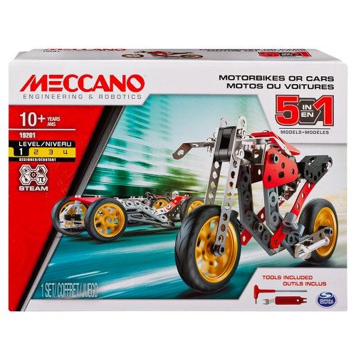 "Meccano - 5en1 Moto de course ""Street Fighter""(3.2"