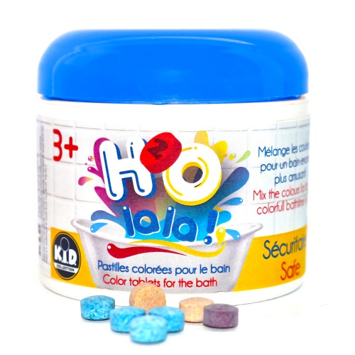 H2O La La ! 30 pastilles de bain, d.12