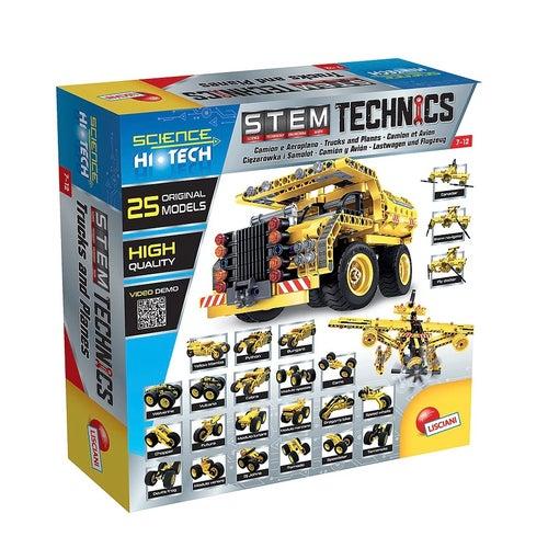Science Hi-Tech-Avions et Camions 25en1 Technics (