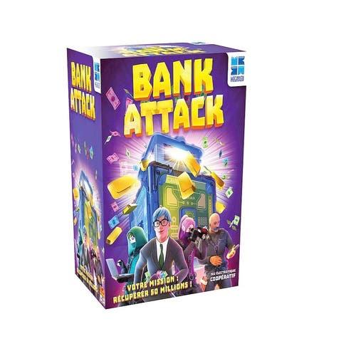 Megableu - Jeu Bank Attack version française
