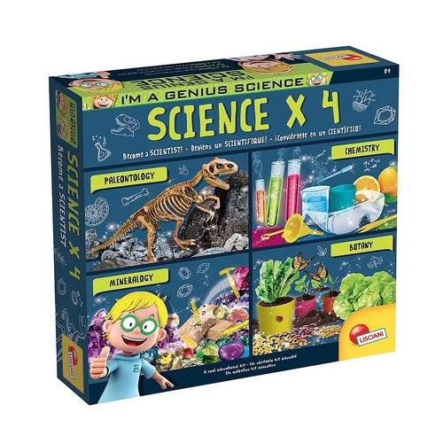 I'm a Genius - Coffret Scientifique x4 Version bil