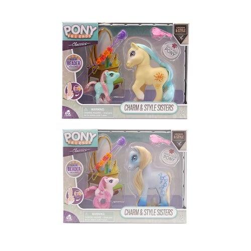 Pony Friends-Ens Pouliches Soeurs Charm&Style 2/S