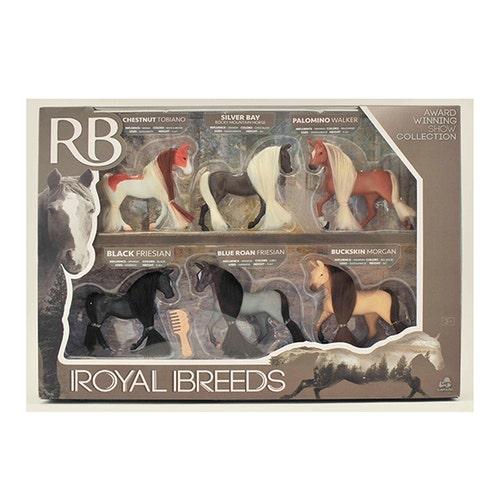 Royal Breeds - Collection de Chevaux 9,5 cm,  6pcs