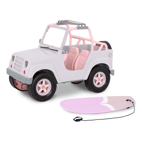 "Véhicule OG - ""Jeep 4x4 Grey & Pink"""