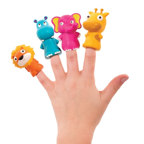 B.Baby - Marionnettes à doigts Zoo Pinky Pals *20