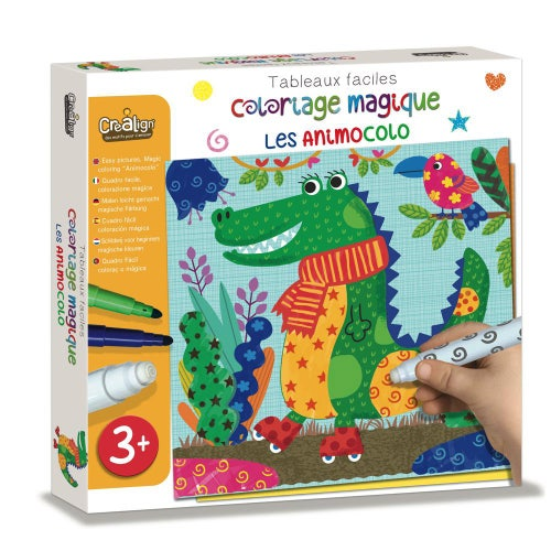 Coloriage magique Facile - Les Animocolo (0920)